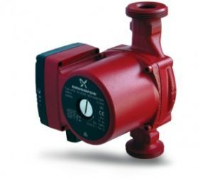 Circulating pumps for hot water