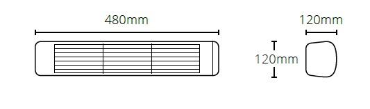 Размери отоплителен уред