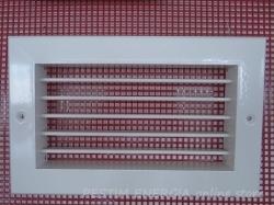 Алуминиева вентилационна решетка /за камина/