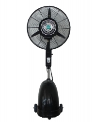 "Cooling Fan with Water Mist 30"" with remote control"