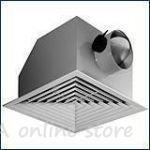 Таванна вентилационна решетка (дифузор) - ламела тип трапец
