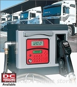 Колонки за дизелово гориво Piusi Cube MC 12V, 24V и 230V