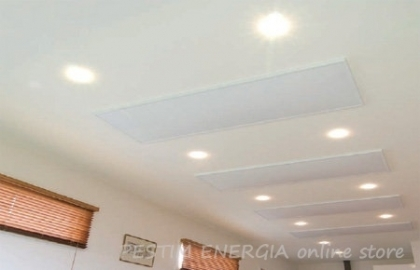 Infrared Panel InfraHEAT - White for Ceiling Installation