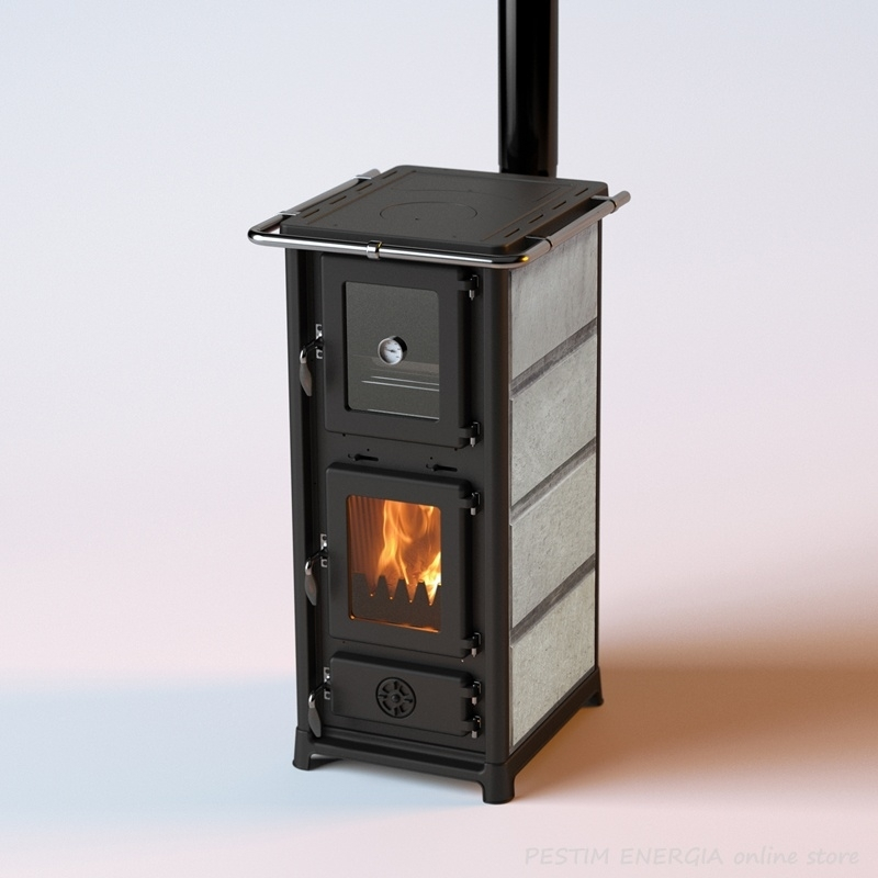 Heating Stove With An Oven Olympia Plus