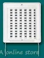 Пластмасова вентилационна решетка с жалузи HACO