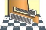 Компресионна решетка за врати HACO