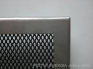 Решетка за камина от инокс с тесен кант