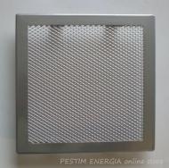 Решетка за камина цвят бяло злато с широк кант