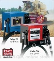 Колонки за дизелово гориво Piusi Cube 12V, 24V и 230V