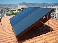 Solar Panel and a Boiler in One Single Unit - Compact 120 litres - Advanced Solar Technology