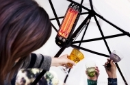 Infrared heater for outdoor use Lucciola/Firefly