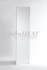 Infrared Panel InfraHEAT - White - Wall Installation