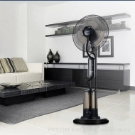 Cooling Fan with Water Mist