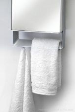 Convectional heater-mirror and towel dryer for bathroom FOLIO 1800W