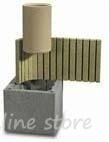 Сет керамични комини UNI PLUS - 7 метра - Австрия