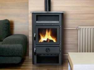 """Dry"" type fireplace stoves"