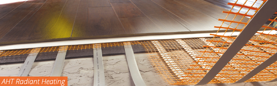 AHT radiant floor heating