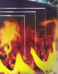 Fire-Resistent Glass: 750 degrees Centigrade