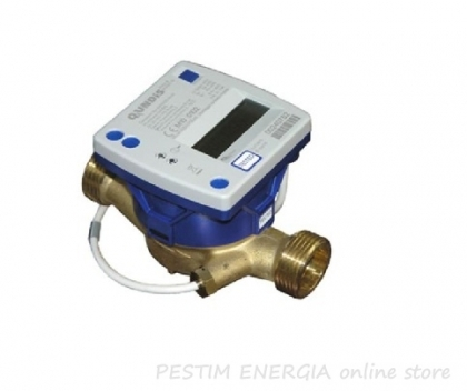 Compact heat meter with temperature sensor Qundis G21-MID