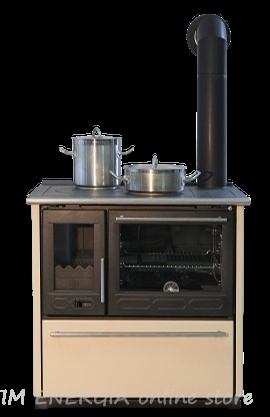 Cooker on solid fuel Plamen 850 Glas