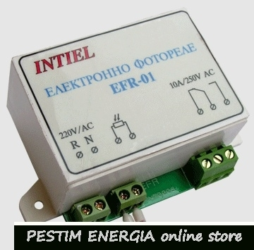 Electronic Photo relay EFR-01
