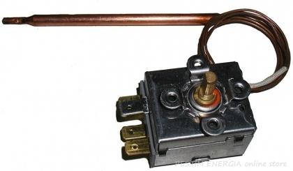 Thermostat SP-DT 0/90°C with copper capillary 1500 mm