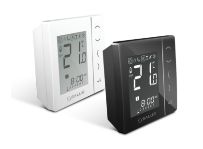 Thermostat with four configurations and wireless communication SALUS VS20WRF/VS20BRF