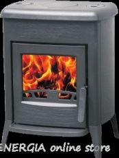 Cast iron fireplace on solid fuel Amity 3