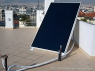 Solar Panel and a Boiler in One Single Unit - Compact 160 litres - Advanced Solar Technology