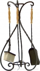 Fire utensils - hand forged