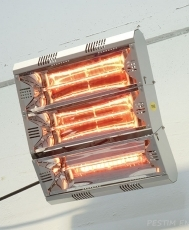 Industrial infrared heater Hathor