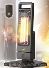 Water-resistant infrared radiant heater Guadalupa 1200W, IP55