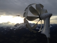New generation small wind turbine for off-grid or air extraction installations - Anakata, 400W