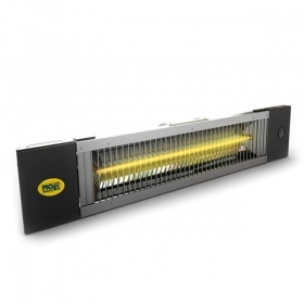 Infrared heater for outdoor use Fiore 1200W, IP65