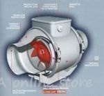 Duct Extractor Fan Vortice Lineo VO